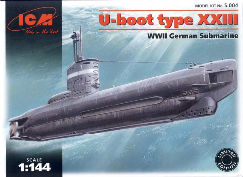 Немецкая подводная лодка типа XXIII ICM 004