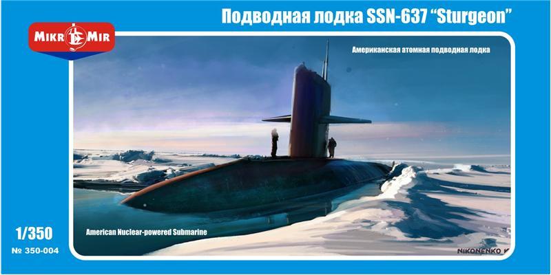 Американская атомная подводная лодка SSN-637 'Sturgeon' Amp/Micro-Mir 350004