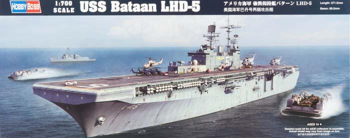 Корабль Bataan LHD-5 Hobby Boss 83406