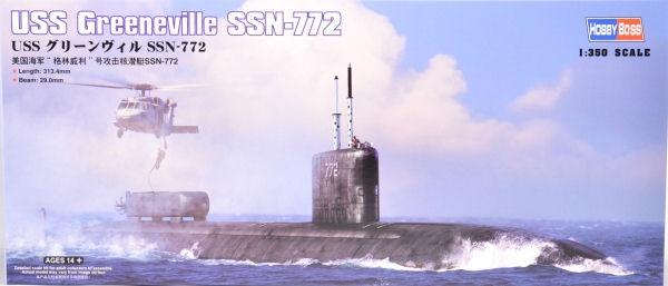 Подводная лодка USS Greeneville (SSN-772) Hobby Boss 83531