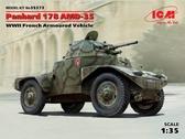 Французский бронеавтомобиль ІІ МВ Panhard 178 AMD-35