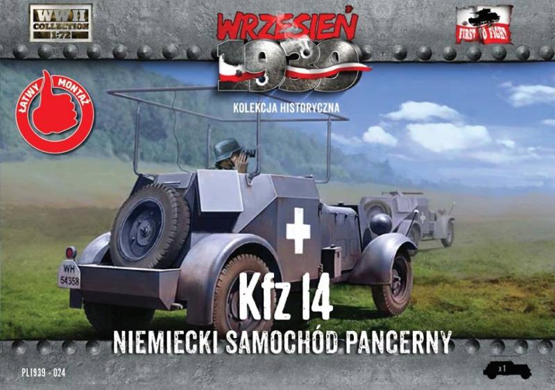 Немецкий бронеавтомобиль радиосвязи Kfz.14 First To Fight 024