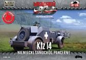Немецкий бронеавтомобиль радиосвязи Kfz.14
