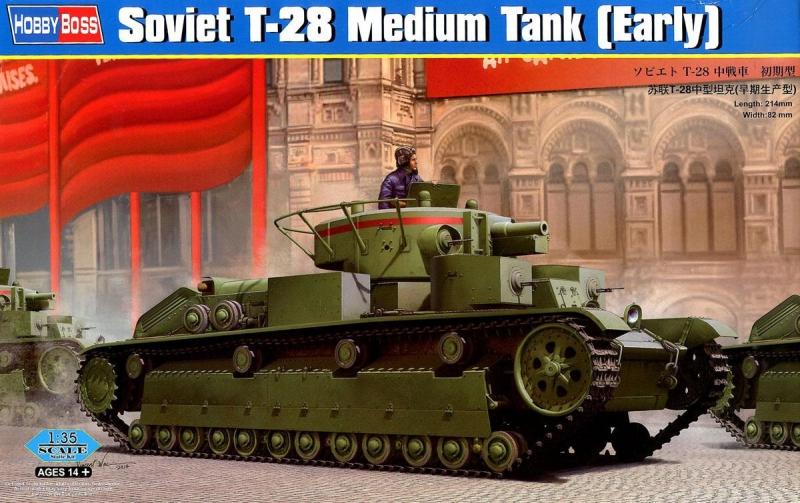 Советский танк T-28, ранний Hobby Boss 83851