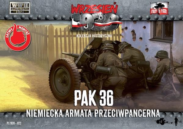 Немецкая пушка Pak.36 (2 шт) First To Fight 022