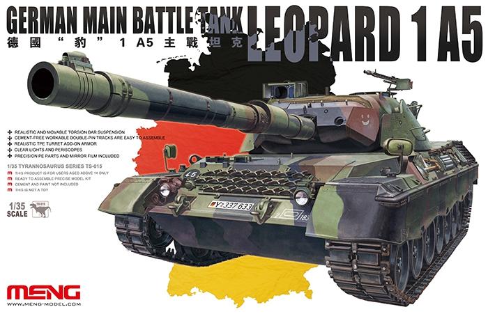 Немецкий основной боевой танк Леопард-1 А5 Meng 015