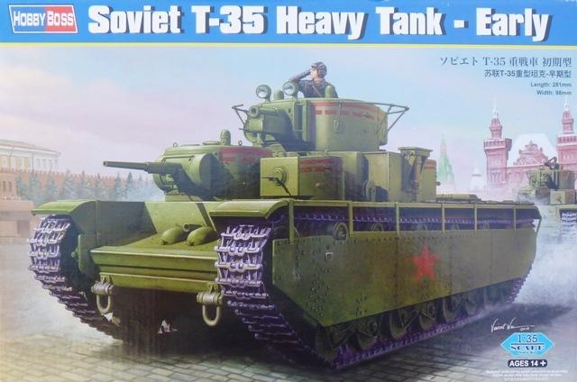 Советский танк Т-35, ранний Hobby Boss 83841
