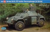 Немецкий бронированный автомобиль Sd.Kfz.222 Leichter Panzerspahwagen (1st Series)