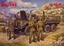 Советский грузовой автомобиль ЗиЛ-131 с советской мотопехотой ICM 35516 основная фотография