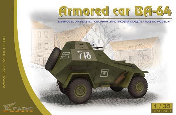 Бронеавтомобиль БA-64 / BA-64 Parc Models 3506