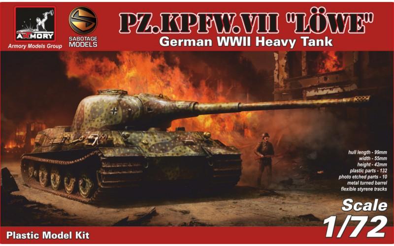 Немецкий танк Pz.VII L?we Armory 72201