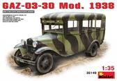 Советский автобус ГАЗ-03-30 обр. 1938 г.