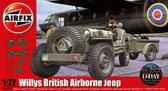 Британский бортовой джип Willys от Airfix