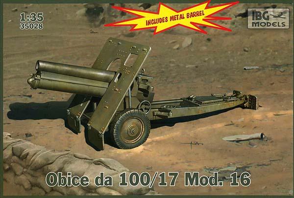 100 мм горная пушка М.16 IBG Models 35028