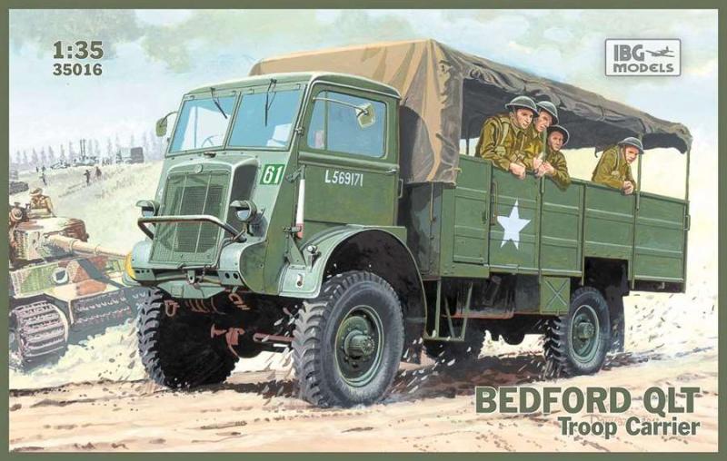 Грузовик Bedford QLT IBG Models 35016