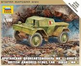 Британский бронеавтомобиль Динго Mk I