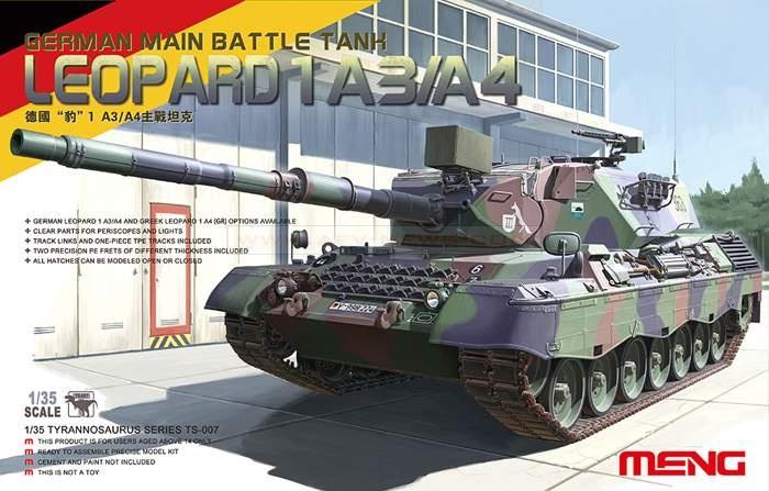 Основной боевой танк Leopard 1 A3/A4 Meng 007