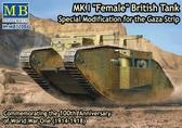 Британский танк Mk I Female, Специальная модификация