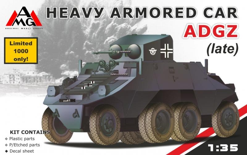 Тяжелый бронированный автомобиль ADGZ (late) Amg Models 35502