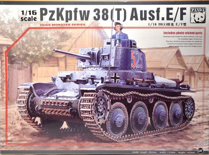 Чешский танк Pz.Kpfw. 38(t) Ausf. E/F Panda 16001