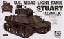 Легкий танк M3A3 Afv-Club 35053 основная фотография