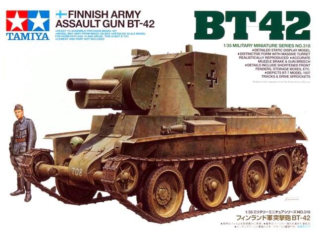 Финская трофейная версия BT-42 Tamiya 35318