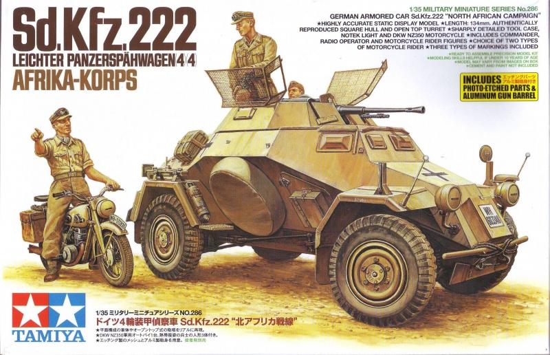 Немецкий БТР Sd.Kfz.222 Tamiya 35286