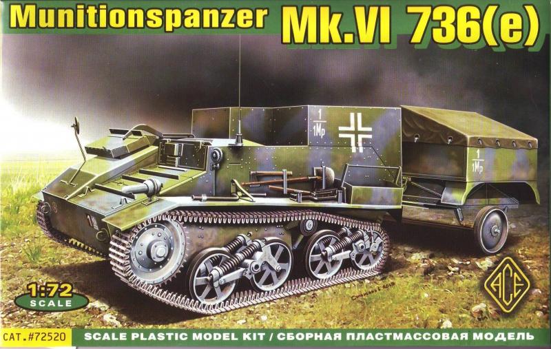 Перевозчик боеприпасов на шасси Mk.VI 736(e) Ace 72520