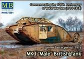 Британский танк Mk I Male