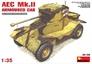 Британский бронеавтомобиль AEC Mk.II MiniArt 35155 основная фотография