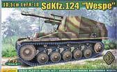 Немецкая самоходно-артиллерийская установка 10,5 cm LeFH - 18 SdKfz.124 Wespe