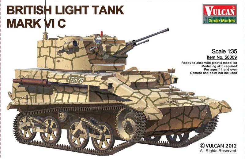 Британский легкий танк Mk VI C Vulcan 56009