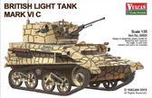 Британский легкий танк Mk VI C