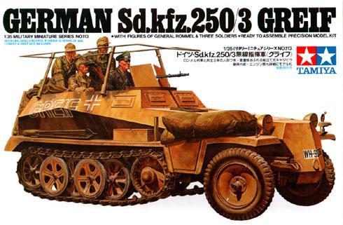 Немецкий БТР Sd.Kfz.250/3 Greif Tamiya 35113