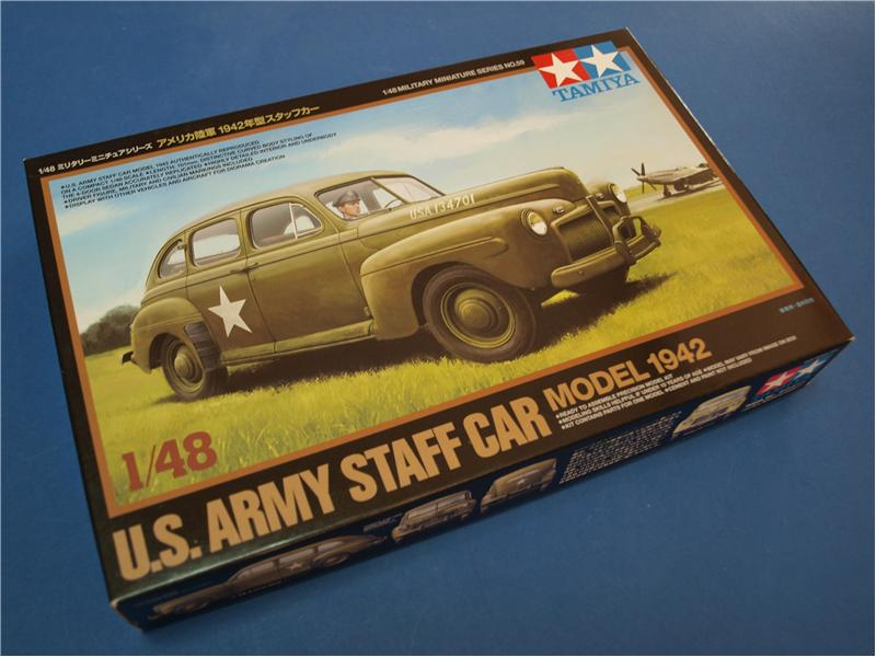 Американский командирский автомобиль 1942 Tamiya 32559