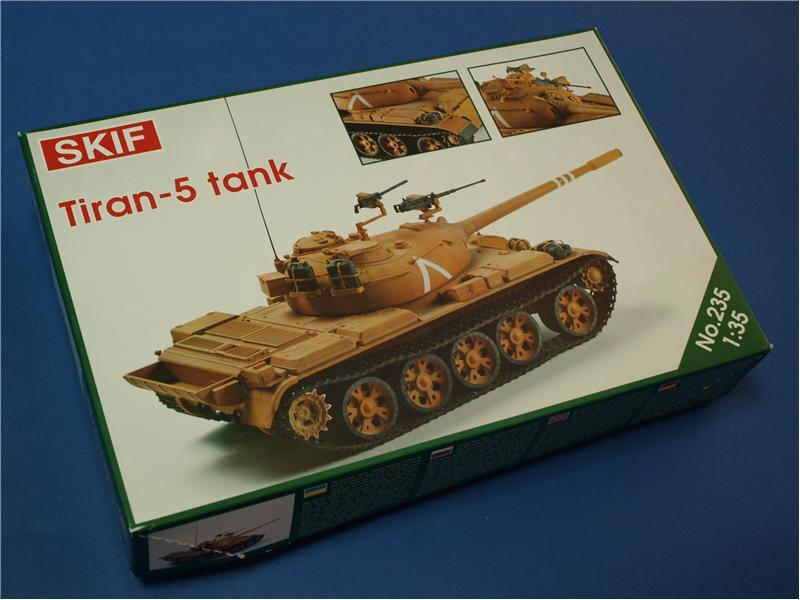 Модель танка Тиран-5 Skif 235