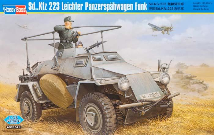Бронеавтомобиль Sd.Kfz.223 Leichter Panzerspahwagen Funk Hobby Boss 82443