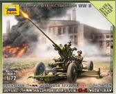 Советский 37-мм орудие 61-К с расчетом