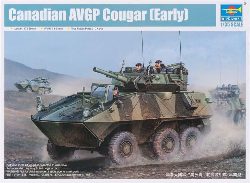 Канадский БТР Cougar 6x6 AVGP Trumpeter 01501
