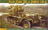 Зенитная установка 2 см Flak 38 sfl SdKfz.10/4