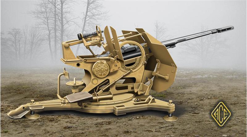Зенитная пушка 3cm Flak 103/38 Jaboshreck Ace 72294