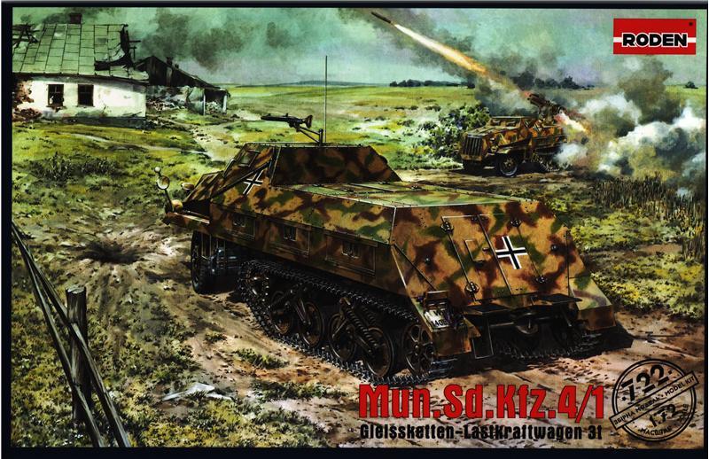 Самоходная РСЗО Sd.Kfz. 4/1 Panzerwerfer 42 Roden 722