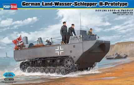 Немецкий тягач-амфибия Land-Wasser-Schlepper II-Prototype Hobby Boss 82461
