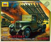 Советская реактивная установка БМ-13 Катюша
