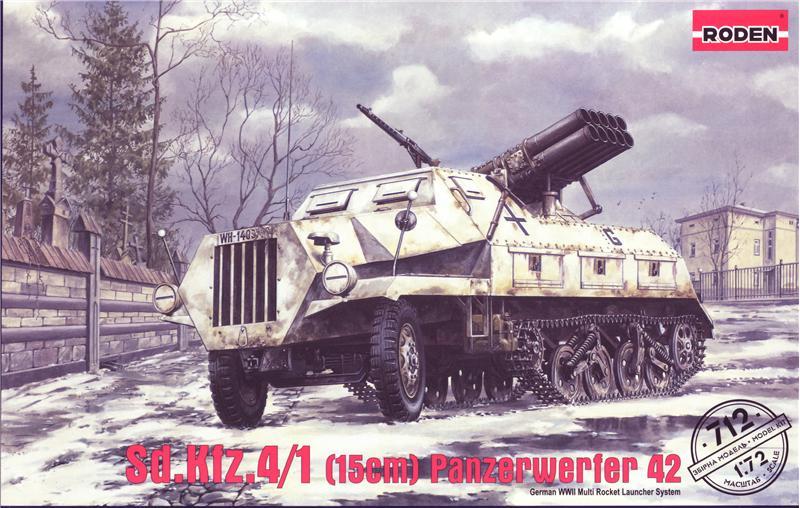 Немецкая самоходная установка Sd.Kfz. 4/1 Panzerwerfer 42 Roden 712