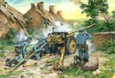 Германская противотанковая пушка 7,62 cm Pak 36(r) с расчетом