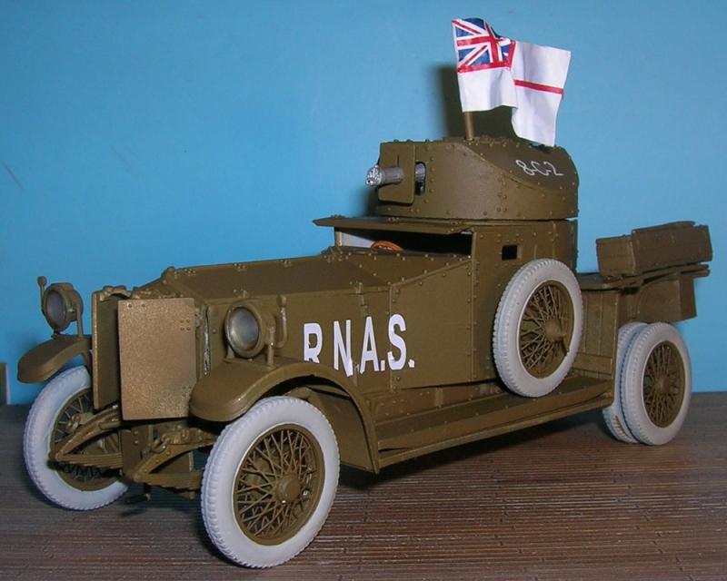 Британский бронеавтомобиль Pattern 1914 Roden 803