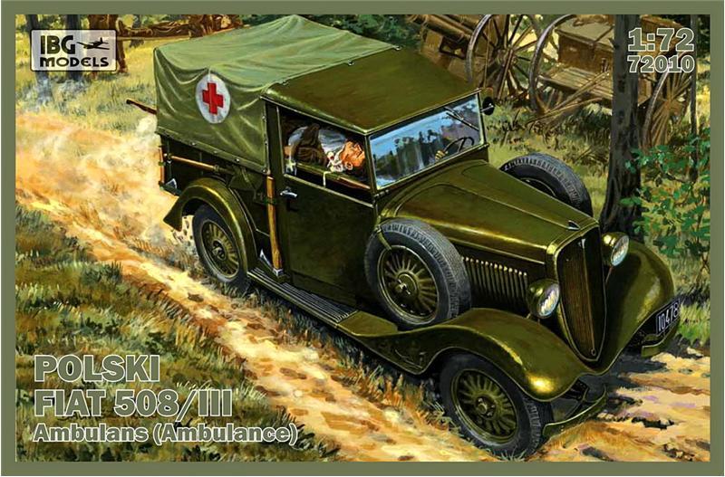 Польский Fiat 508/III (скорая помощь) IBG Models 72010