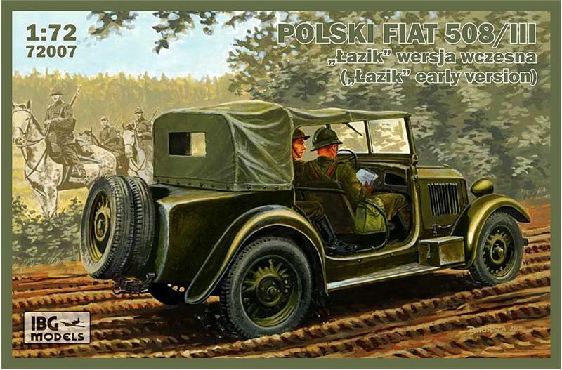 Польский Fiat 508/III ('Lazik' ранняя версия) IBG Models 72007