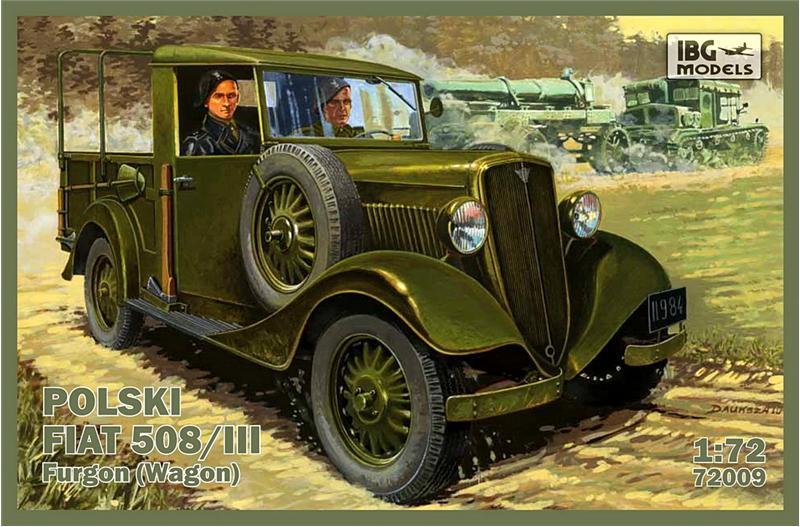 Польский Fiat 508/III (универсал) IBG Models 72009